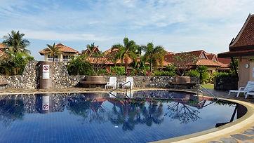 Blue Mango Residence pool