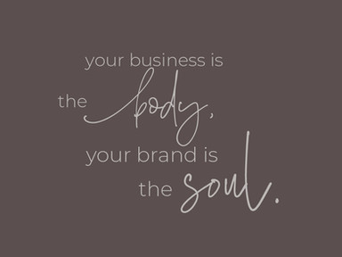 your business is the body,
