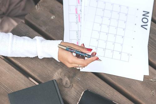 Plane & pflege Deine Präsenz in Social Media