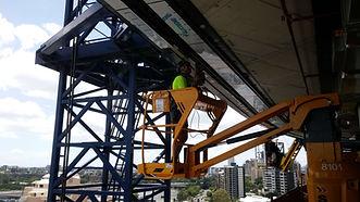 Installing overhead Unirail.jpg