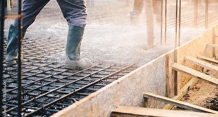 Concrete House Slab