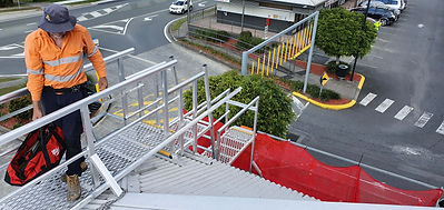 Height Access Ladders & Walkway Systems