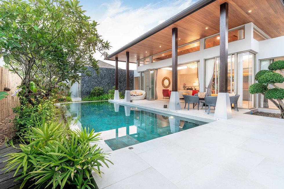 Concrete Pool Area
