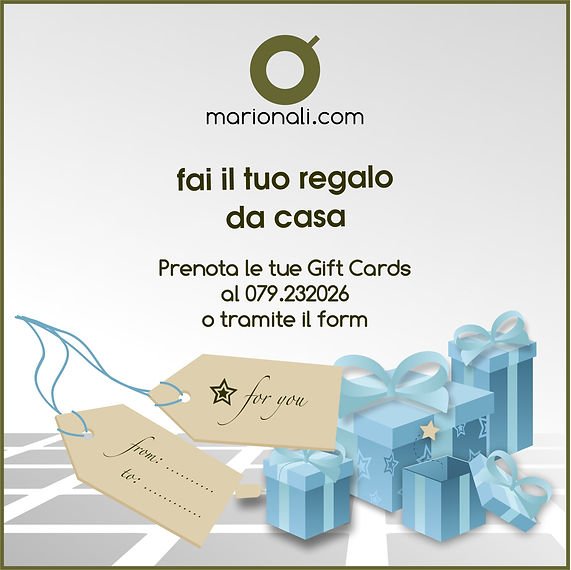 Gift Card Mario Nali