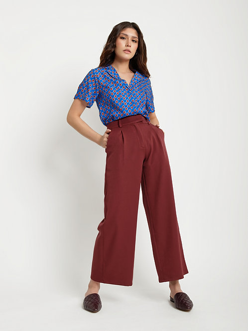 HIGH  WAISTED CULOTTE PANT