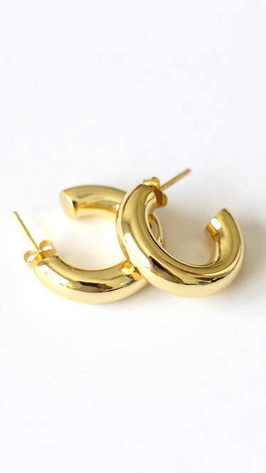 .75'' Perfect Hoop 14K Gold
