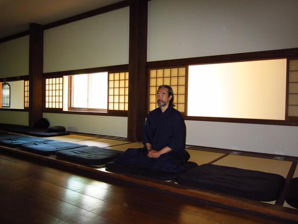 Meditation at Dai Bosatsu Zen Monastery