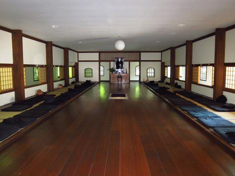 Meditation Hall at Dai Bosatsu Zen Monastery