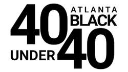 ATL Blk 40 under 40 logo