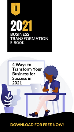 Business Transformation Book Cover for S