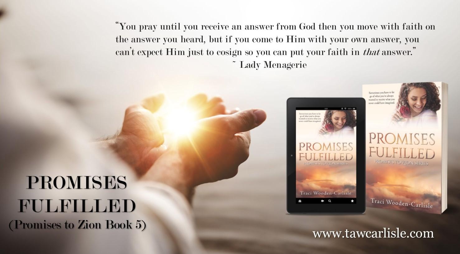 Promises Fulfilled Promo Faith is