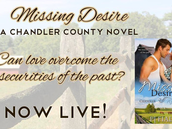 MISSING DESIRE                                         BY PJ FIALA IS LIVE