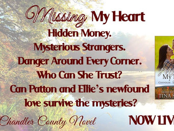 MISSING MY HEART                                         BY TINA SUSEDIK IS LIVE!