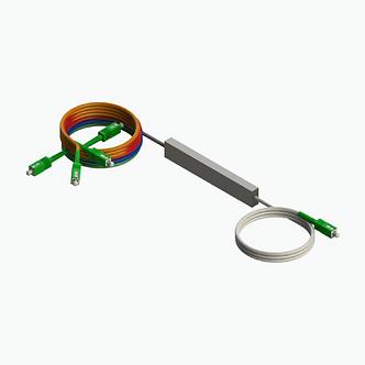 Splitter PLC 1x16 conectorizado SC/APC