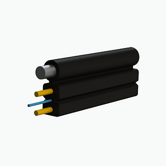 Cable de fibra óptica drop plano 1 Hilo fig. 8 G657A2 KFRP