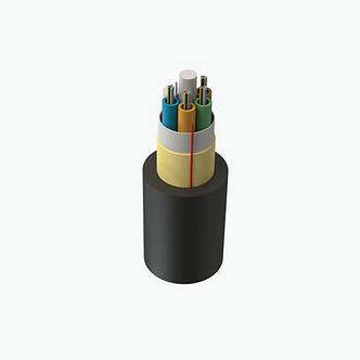 Cable de fibra óptica ADSS span 200