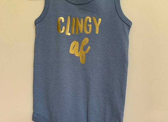 Clingy AF onesie