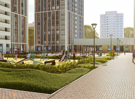Кварталы в рамках реновации проектируются с учетом изменений климата.
