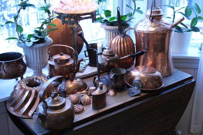 Koppar i Sverige från 1600-tal fram till slutet på 1800-talet.
