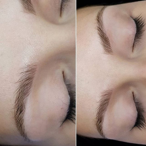 Picture of healed Ombre Brows._To show i