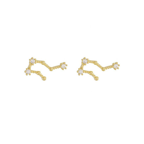 ZODIAC GOLD EARRINGS