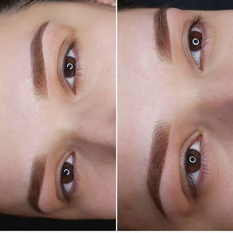 Fresh Eyebrows ✅ Color will fade for 30%