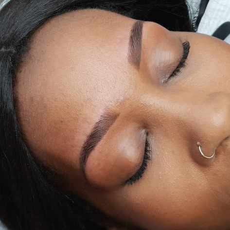 Ombre Brows healed after 1 treatment__He