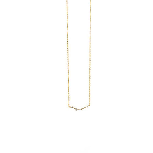 ARIES ZODIAC GOLD NECKLACE