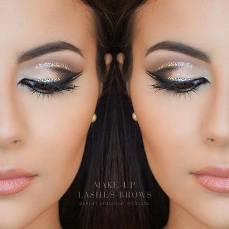 Repost arabic make-up look #makeupartist