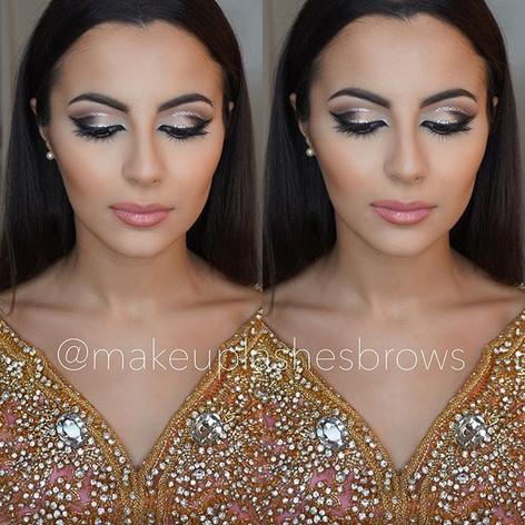 Cut crease make-up look _anastasiabeverl