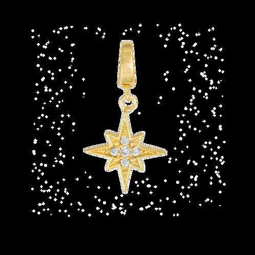 WISHING STAR GOLD CHARM