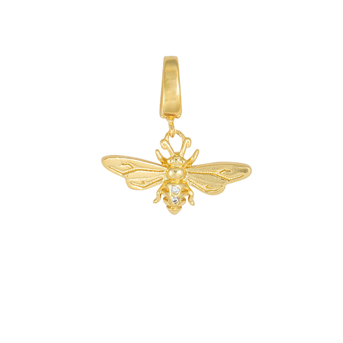 BEE GOLD CHARM