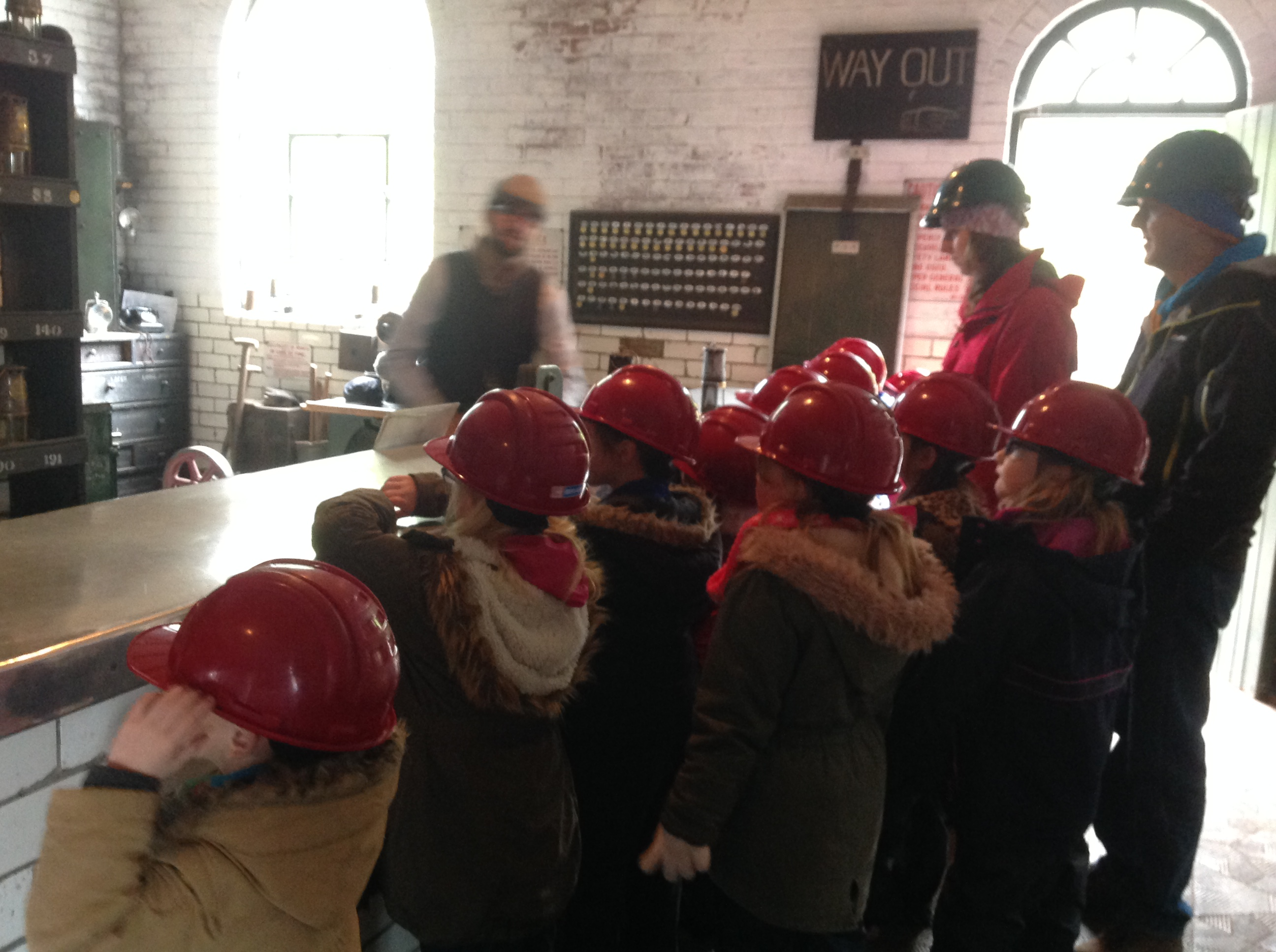 Learning about the mine
