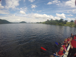 Canoeing on Ullswater