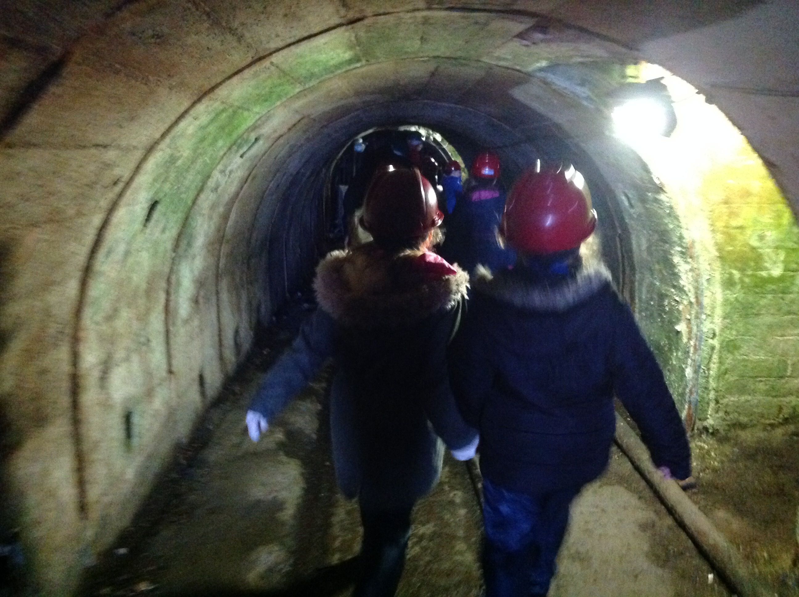 Into the mine
