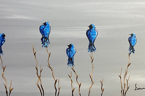 Blue Bird Sip & Paint Greybull Rec Center