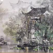 蘇州水郷の夏