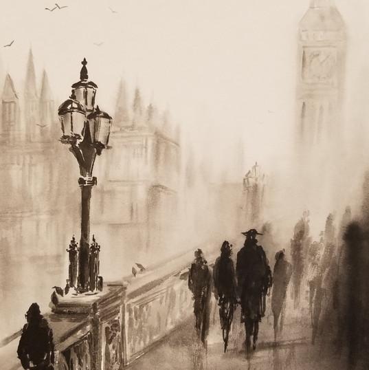霧のロンドン