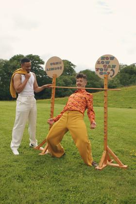 Dan and Rhys - The Giraffe Shed