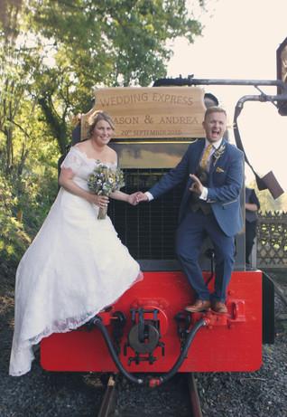 Jason & Andrea - Vale of Rheidol Railway