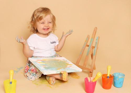 Phoebe's Paint Smash
