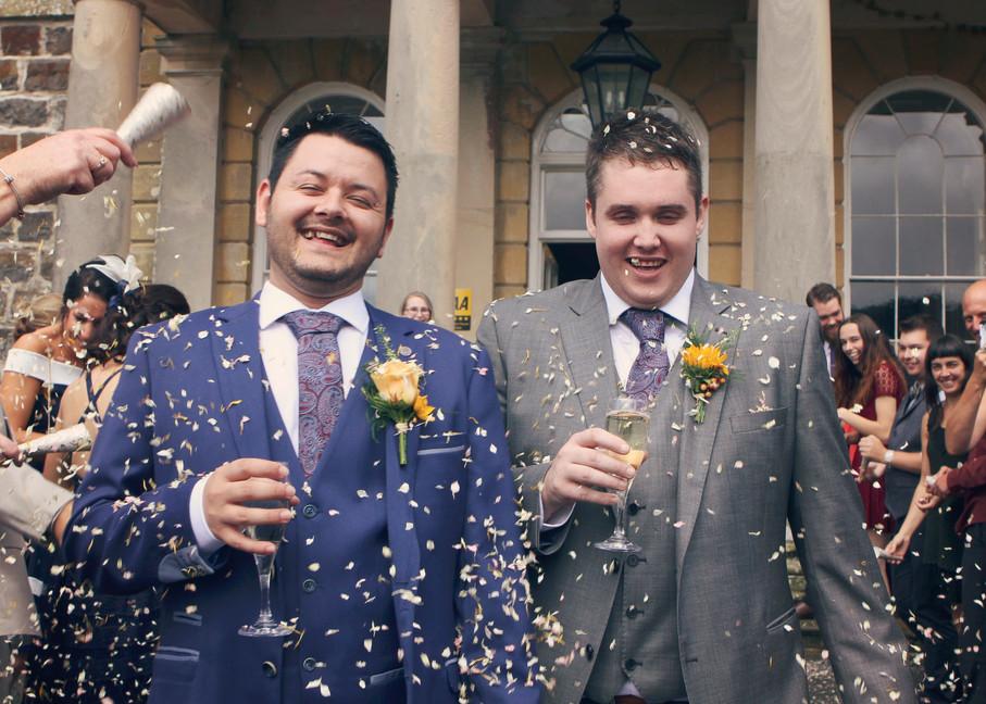 Daniel & Paul's Wedding - Nanteos Mansio