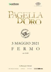 """03 maggio 2021 - 58esima edizione del premio """"Pagella d'Oro"""""""