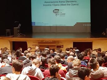 """130 alunni al Progetto """"Incontra l'Opera"""""""