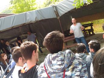 Classi quinte - visita al Campo di Concentramento presso le Casermette di Colfiorito.
