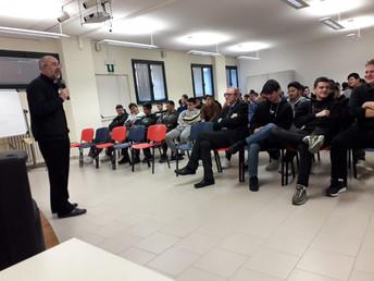 Il vescovo Mons. Nazzareno Marconi incontra le classi terze dell'I.I.S.  Mattei