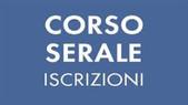 CORSO SERALE  - ISCRIZIONI