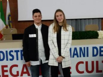 """IIS """"E.Mattei"""" e Rotary Club """"G.Leopardi"""" Recanati - studenti vincitori del conc"""