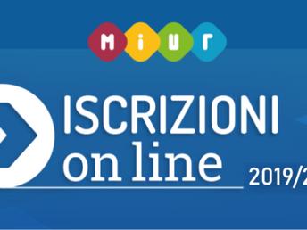 Iscrizioni OnLine: da questa mattina aperto il portale del MIUR per le iscrizioni all'a.s. 2019-