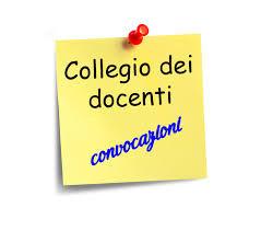 a.s.2017-18: Convocazione Collegio dei Docenti, venerdì 01 settembre ore 9,00